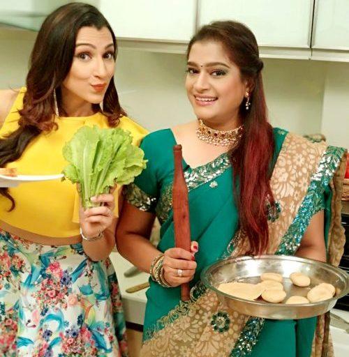 Ekta Jain is playing Gujarati girl in Saas Bahu aur Betiyan on Aajtak New Channel