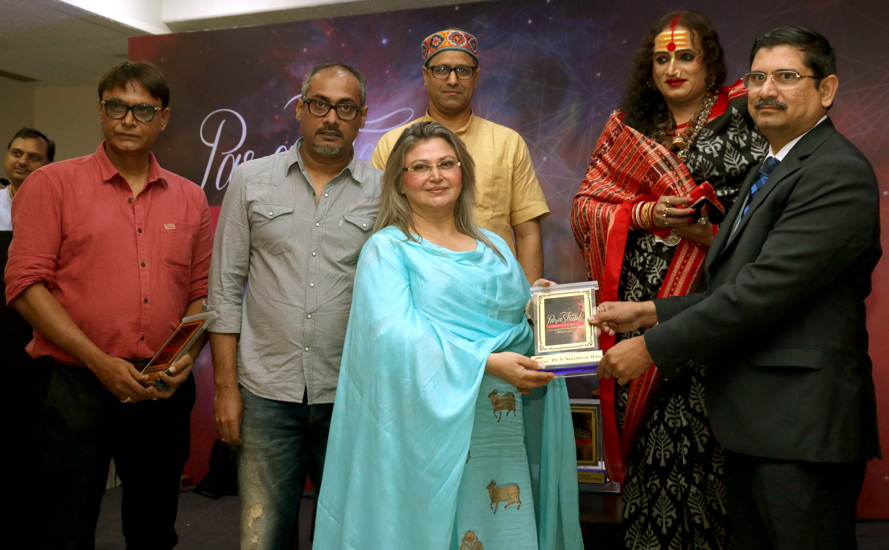 Parashakti-Redefining Space launched by renowned group of activists to address women issues in the Film and TV industry