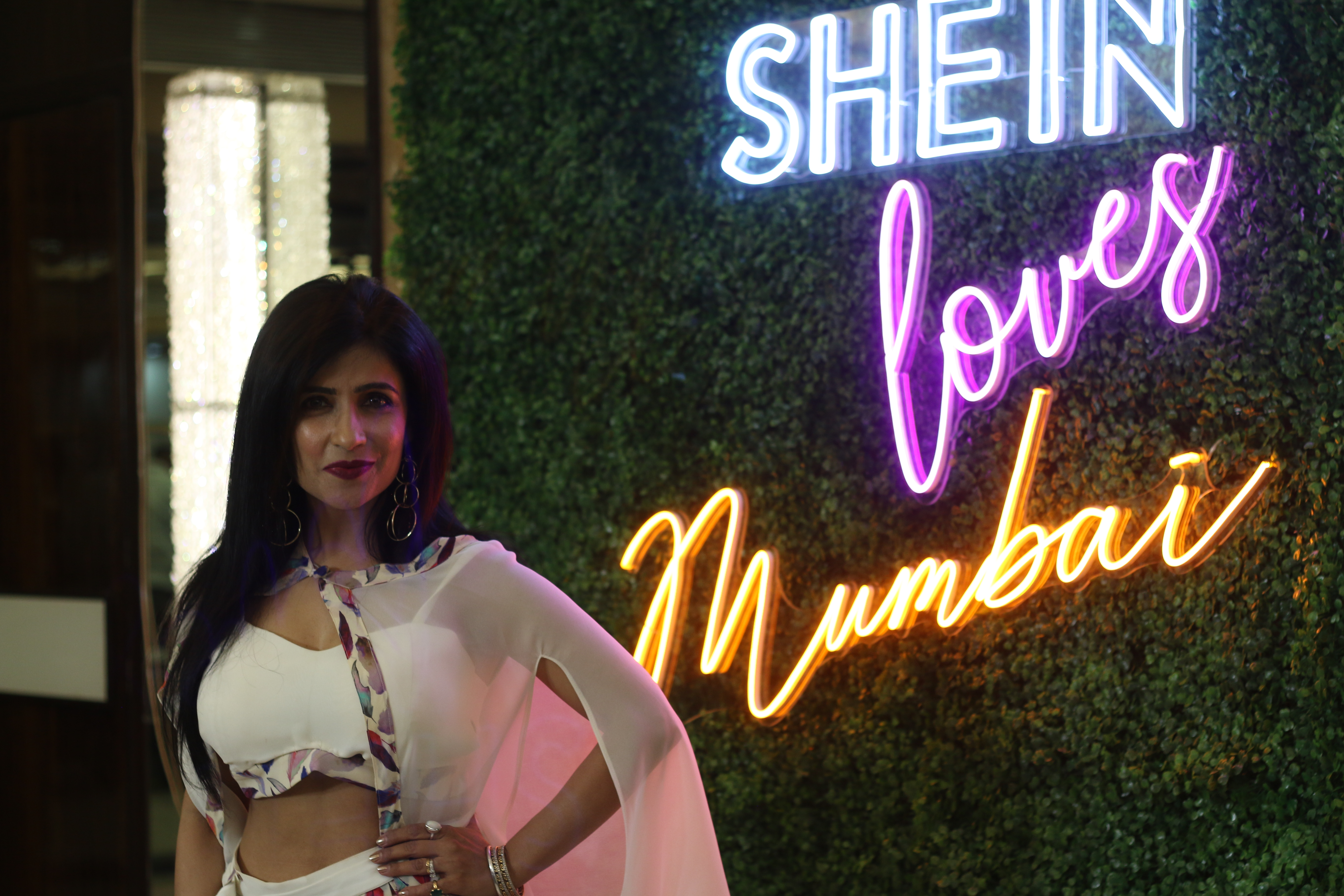 SHEIN India Flaunts Runway Trends at a pop up in Mumbai