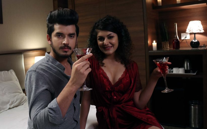 Faraz and Amaira come closer on set of web series  Ishq Aaj Kal on Zee 5