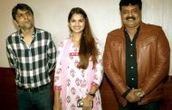 Tara Alisha Berry,  Sunil Pal, Pramod Gore, Vishal Mishra at screening of Hindi film Marudhar Express