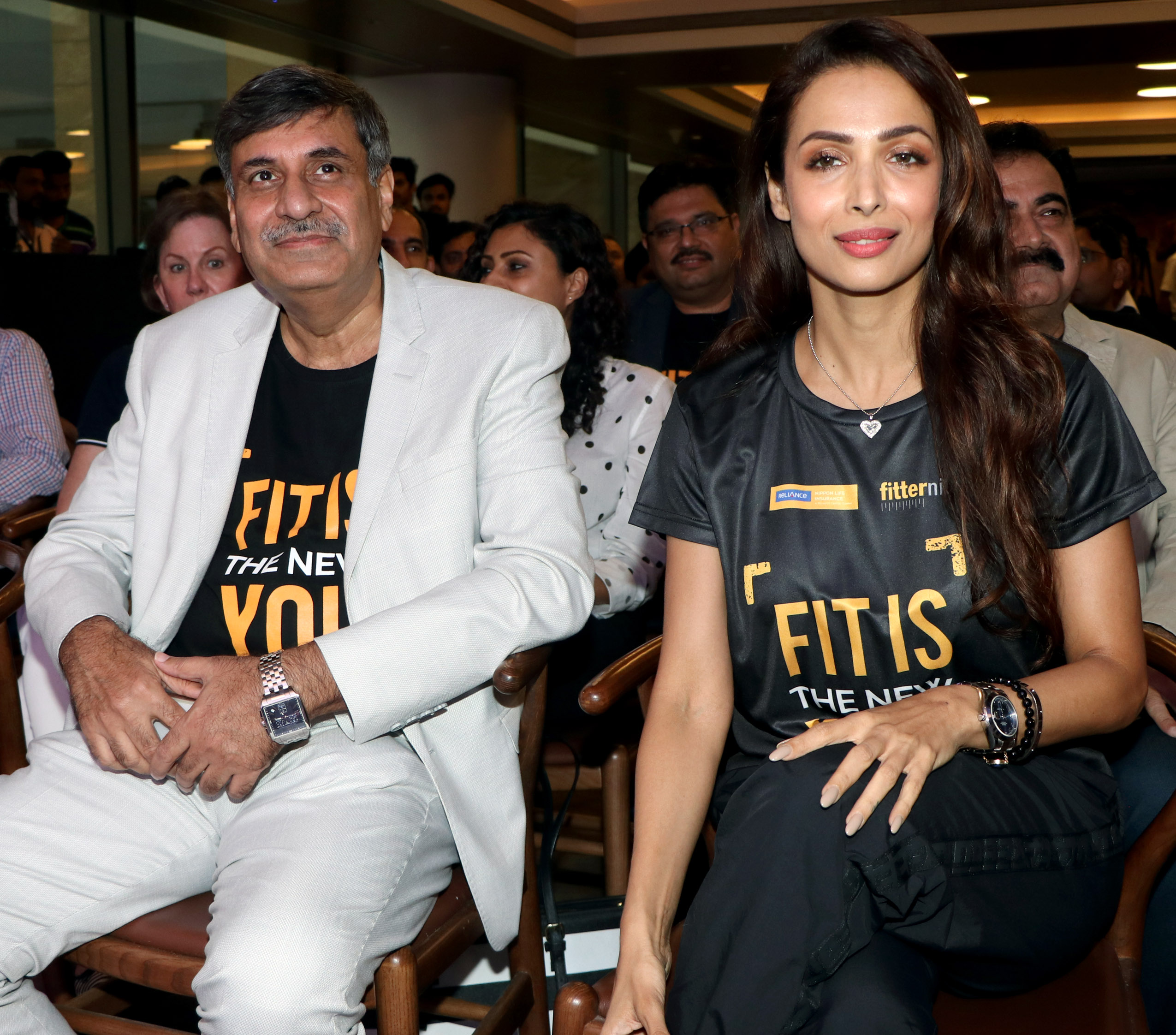 Malaika Arora launched #WalkPeChal campaign an initiative by Reliance Nippon Life Insurance Company