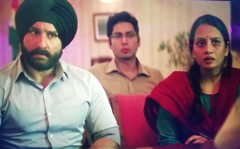 सैफ अली खान ने स्मिता तांबेला दिली शाबासकी, म्हणाला 'तू खूप इंटेन्स एक्टरेस आहे'