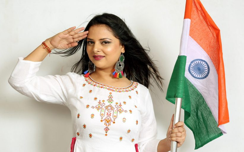 Anupma Chauhan Debuts With A Patriotic Song This Independence Day