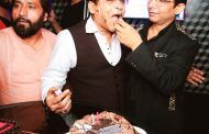 Director Chandrakant Singh celebrated his birthday party with friends