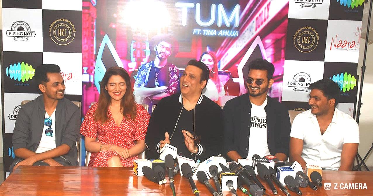 Piping Hot Resto Bar Hosts Superstar Govinda, Actress Tina Ahuja, Composer Gajendra Verma and Producer Hitendra Kapopara in 'Milo Na Tum's' Media Interaction