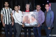 "Smashing poster launch party for soon to be released music video ""Udja Udja Re"" - in Sin City Mumbai last night!"