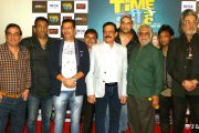 Krushna Abhishek, Shakti Kapoor, Anup Jalota and Hemant Pandey attended trailer launch of film Life Mein Time Nahi Hai.