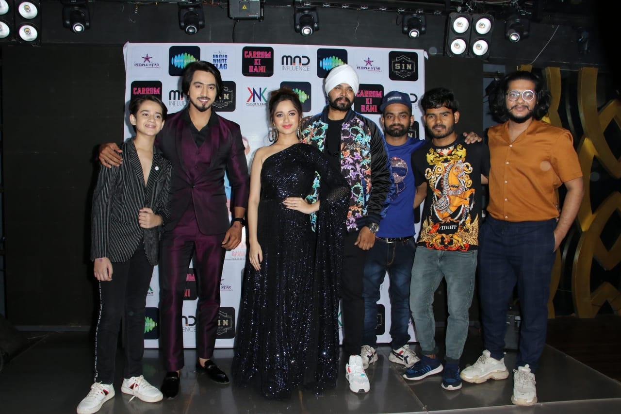 """Ramji Gulati's new track """"Carrom Ki Rani""""ft. Jannat Zubair and Mr. Faisu is a perfect club number for Valentine's Day"""