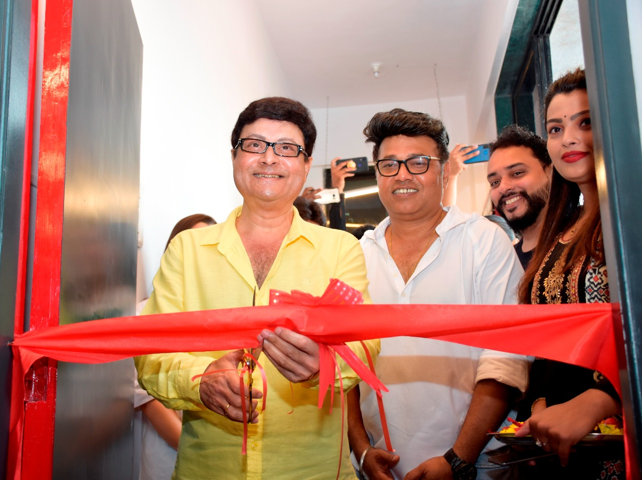 Star studded inauguration of ace director Sanjay Jadhav's Filmmaking school 'Filmagic' which will function from real sets and studio