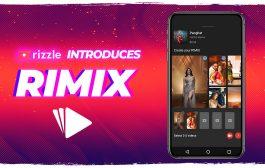 Rizzle launches a revolutionary feature: Rimix
